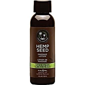 Earthly Body Hemp Seed Massage Lotion - 8 Oz Guava Lava
