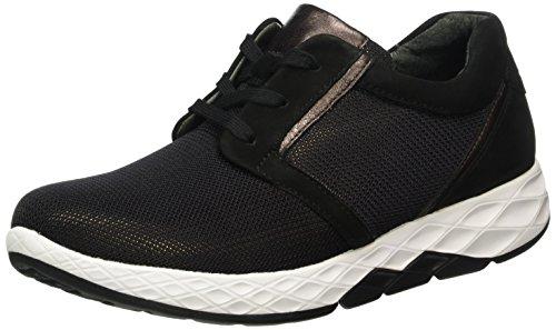 Gabor Shoes Rollingsoft, Zapatos de Cordones Derby para Mujer Multicolor (Schwarz/Rame 68)