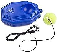 Canlanda Tennis Ball Trainer , Tennis Rebound Tennis Baseboard with a Rope 1 Training Ball Tennis self Study P