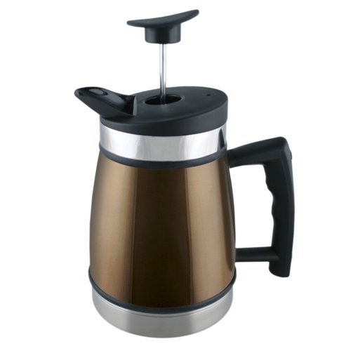 Planetary Design TP MO 32 Table Top French Press, Mocha, 32 oz