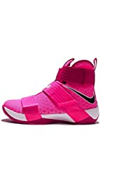 18d55c01df9 Nike Lebron Soldier 10 X Breast Cancer edition Ref 844374-606 Pink Blast    Black vivid pink SZ 8.5
