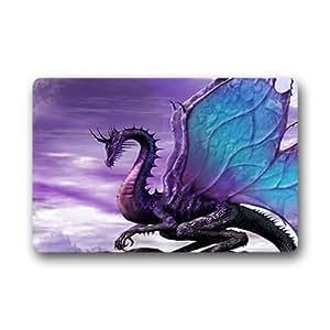 """Custom Fire dragon Doormat Outdoor Indoor 18""""x30"""" about 46cmx76cm"""
