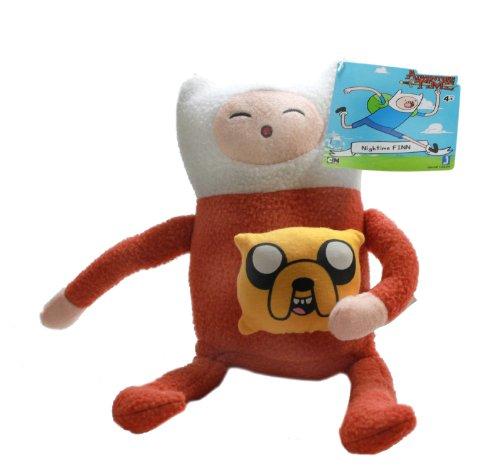 Jazwares Adventure Time 10  Plush Finn In Pajamas
