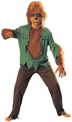 Rubie's Universal Studios Monsters The Wolfman Kids Medium Halloween Costume NIP