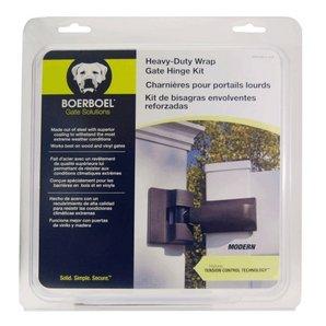 Boerboel Black Modern Heavy Duty Self Closing Gate Hinges 73014701