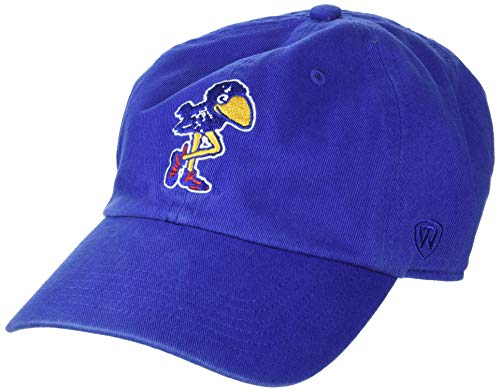 - Top of the World Kansas Jayhawks Men's Vintage Hat Vault Icon, Royal, Adjustable