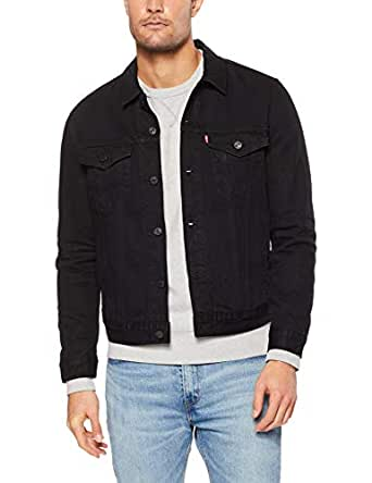 Levi's Men's The Trucker Jacket Jackets, Berk, Large
