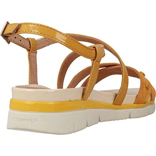 Stonefly Sandalias y Chanclas Para Mujer, Color Amarillo, Marca, Modelo Sandalias Y Chanclas Para Mujer Elody 2 Amarillo Amarillo