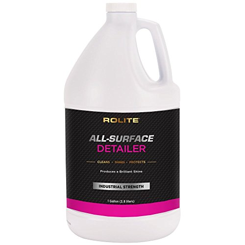 Rolite All-Surface Detailer (1gallon) for The Ultimate Fast & Easy Speed Wax on Automobiles, Marine, RVs, Boats, Glass, Clear Coat, Painted Surfaces