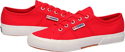 SNRD  SN107,  Damen Sneaker Low-Tops Rot