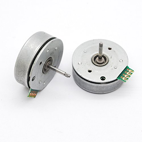 2pcs 4 wire 3 phase Brushless motor dc Micro motor dia 29mm for diy wind turbine generator water generator by Dow