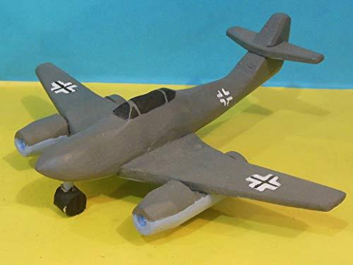 - Wooden Toy Messerschmitt Me 262 Airplane