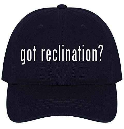 The Town Butler got Reclination? - A Nice Comfortable Adjustable Dad Hat Cap, Navy