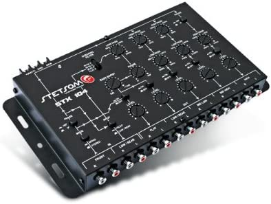 Stetsom STX104 10 Channel 5-Way Crossover with 9 Volts Output