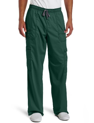 Dickies Mens Big And Tall Genflex Contrast Drawstring Cargo Scrub Pant  Hunter  Xxx Large