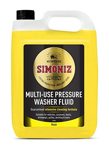 Simoniz Pressure Washer Detergent 5L:
