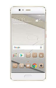 Huawei P10 Plus VKY-L29 6GB RAM / 128GB ROM 5.5-Inch 4G LTE Dual SIM FACTORY UNLOCKED - International Stock No Warranty (GOLD)