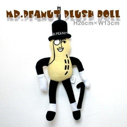 Peanut Planters Mr (no!no! [MR.PEANUT] Mr. Peanut plush doll)