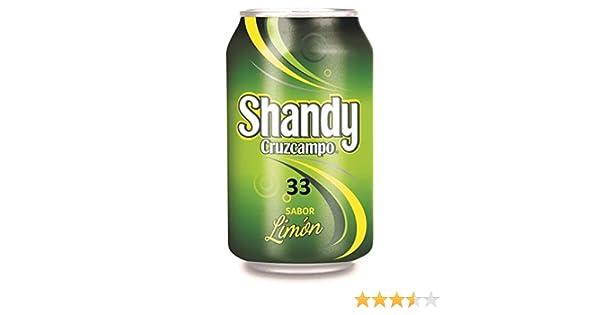 Cruzcampo Shandy - Limón Lata 33 cl (1 unidad)