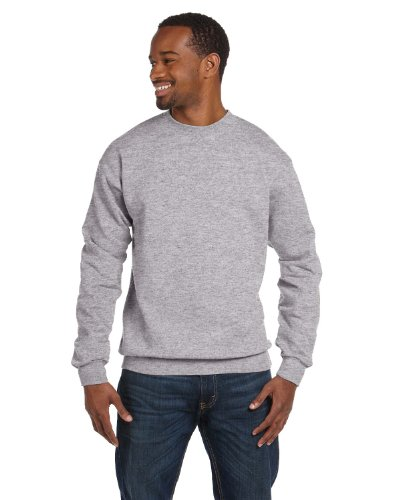 Price comparison product image Gildan Mens Premium Cotton Ringspun Crew (G920) -SPORT GREY -XL