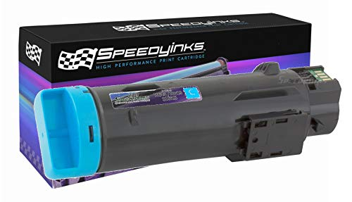 Speedy Inks Compatible Toner Cartridge Replacement for Dell H625/H825 (Cyan)