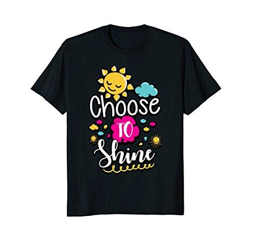 Choose To Shine Teacher Growth Mindset Shirt