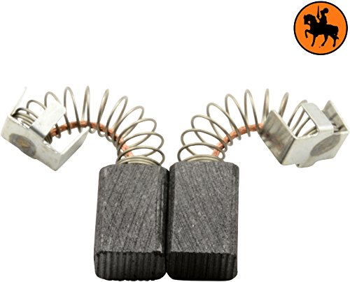 Buildalot Specialty Carbon Brushes 0870_Metabo_FSR 200 INTEC for Metabo FSR 200 INTEC Powertools - With Spring, Cable and Connector - Replaces 316040690 & 316041170