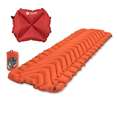 Klymit Insulated Static V Sleeping Pad w Pillow X
