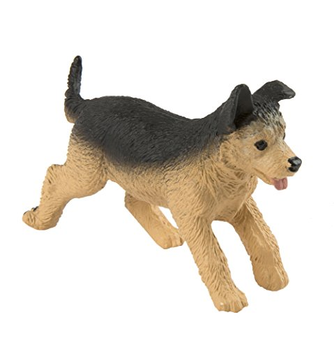 Safari Ltd. German Shepherd Puppy - Realistic Hand Painted Toy Figurine Model - Quality Construction from Phthalate, Lead and BPA Free Materials - For Ages 3 and Up