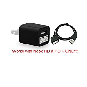Amazon Com Nook Hd Tablet Charger Cable Fits Hd 7 Quot 9