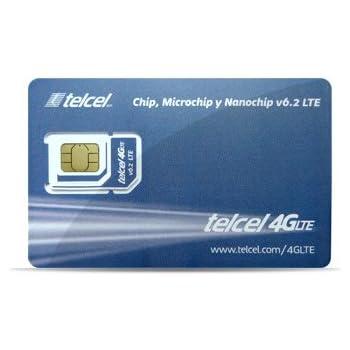 Amazon.com: telcel México tarjeta SIM de prepago con 4 GB ...