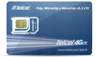 Telcel Mexico Prepaid SIM Card with 5GB Data and Unlimited Calls SMS Universal SIM by Telcel