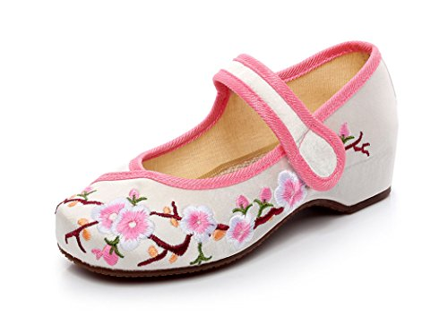 Soojun Girls Embroidery Oxfords Little