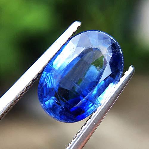 Lovemom 2.86ct Natural Oval Unheated Blue Kyanite Sri-Lanka #R by Lovemom (Image #3)