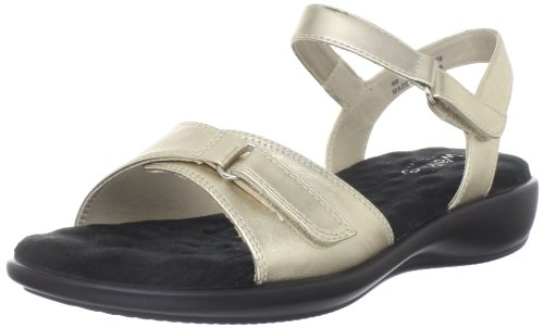 Walking Cradles Women's Sky-2 Sandal,New Gold Leather,12 W US (Womens 2 Sky Sandals)
