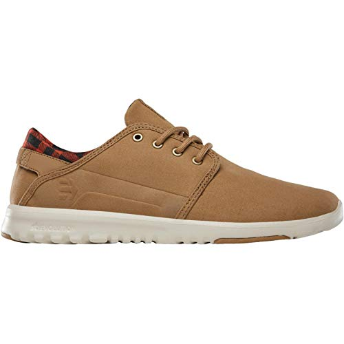 Brown Etnies Unique Scout Brown Brown Taille Baskets Homme Noir Tan Ax4wAa0T