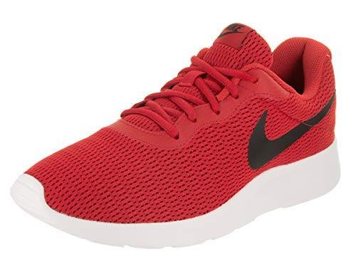 Nike Men's Tanjun University Red/Black Running Shoe 13 Men US