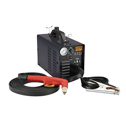Chicago Electric Welding 240 Volt Inverter Plasma Cutter with Digital Display ()