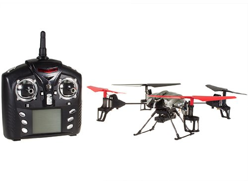 5.1'' WLtoys V959 4-Axis 4 CH RC Quad copter w/ Camera, Lights and Gyro 2.4G HG59 by AZI Toys