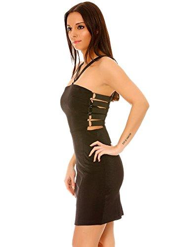 dmarkevous - Vestido - camisa - para mujer negro