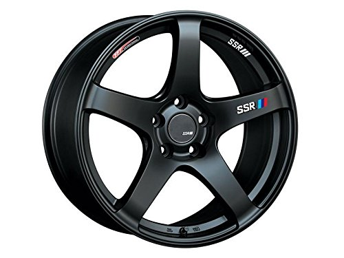 SSR Wheels T418900+3505GMB GTV01 18x9.0 5x114.3 35mm Offset Flat Black Wheel SC300 SC400