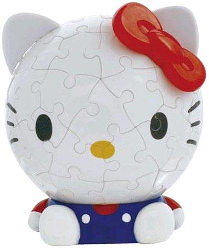 最愛 3D球体パズル (直径約10.2cm) ビッグフェイス ハローキティ ハローキティ B000NP9TLI 60ラージピース ハローキティ (直径約10.2cm) B000NP9TLI, mto:79f911a1 --- quiltersinfo.yarnslave.com