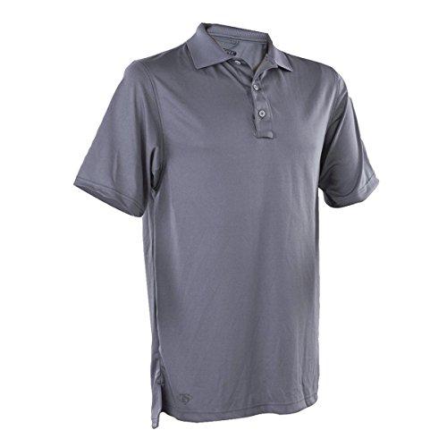 Tru-Spec Polo Shirt, 24-7 Performance S/Steel Grey, Large
