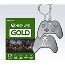 Microsoft Xbox Live Gold - 12 Meses + Chaveiro