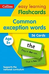 Common Exception Words Flashcards: Prepare for school with easy home learning (Collins Easy Learning KS1) Kindle Edition
