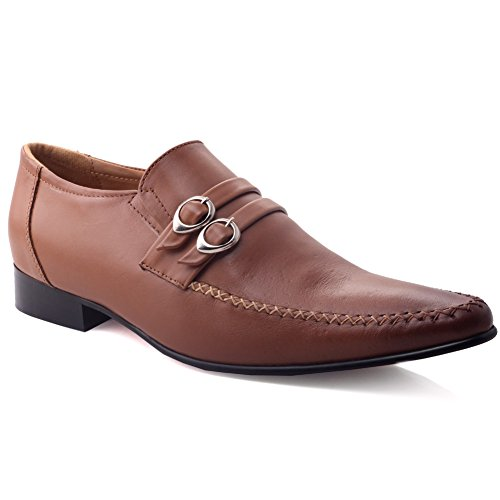 Dress Moda Abbronzatura Mecknzi Formal Shoes Pelle Nuove Unze Spagnolo Inarcato ' Mens zx5nwqp7B
