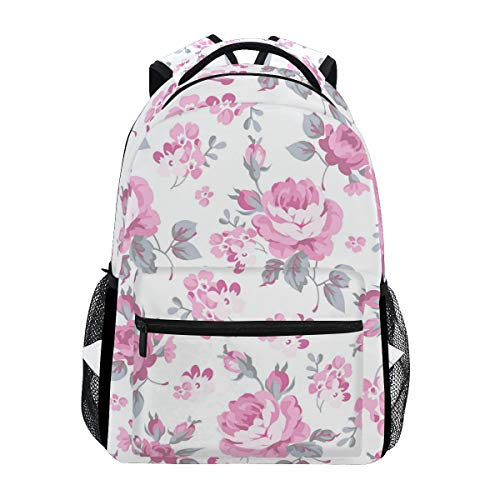 Pink Jeans for Women Trekking Backpack Fashion Backpack Oversized Backpack Men and Women Durable Travel Computer Backpack 17 Inch Notebook Waterproof Large Business Bag