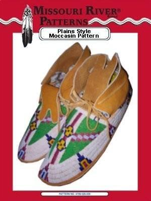 Amazon Plains Style Moccasin Pattern