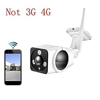 cámara Wireless WiFi IP Cámara de Seguridad Detector de Movimiento ONVIF Impermeable P2P con aplicación,