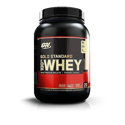 Optimum Nutrition 100% Whey Protein Powder, Vanilla Ice Cream